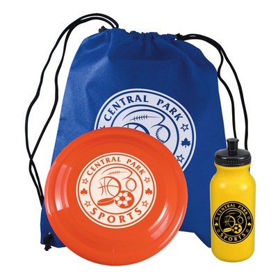 Picnic Kit with Backpack / Bike Bottle / Flyer