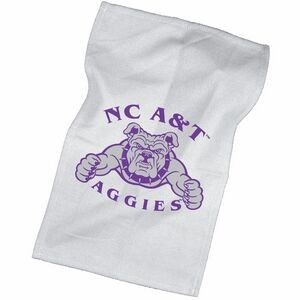 "11""x18"" White Rally Towel"