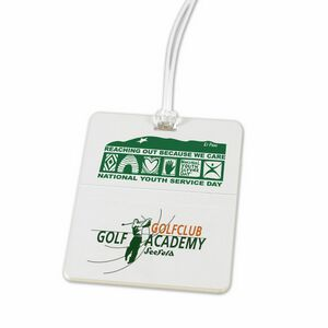 Rectangle Golf Tag (Screen Print)