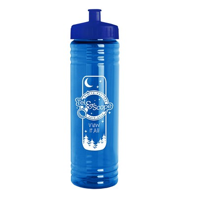 24 oz. Slim Fit Water Sports Bottle - Push-Pull Lid