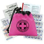 Custom Cinch Drawstring First Aid Kit