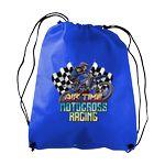 Custom Sophomore Non Woven Drawstring Backpack - Digital