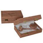 Custom American Walnut Royal Standard Gavel W/ Presentation Case