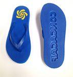 Custom CanCun Sand Imprint Plastic Strap Flip Flop - Men's