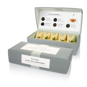 Petite Presentation Box Black Tea Assortment - 10 Infusers • 2 Each of 5 Blends