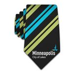 Custom Fully Customizable Printed Classic Width Necktie