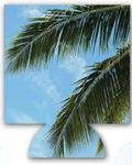 Custom Palm Tree Sublimated Hugger