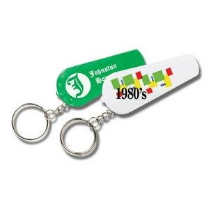 Key Tag With Whistle & Light