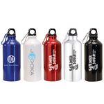 Custom 20 Oz. Aluminum Water Bottle w/ Carabiner