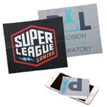 Custom On Sale! Microfiber Cleaning Cloth w/Full Color Sublimation