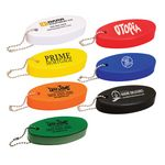 Custom Oval Soft Floater Keychain