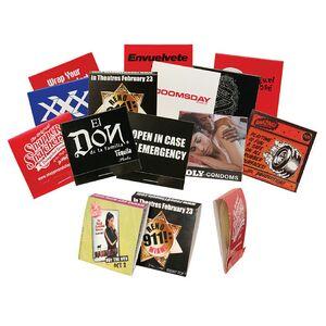 Custom Branded Condom Matchbook
