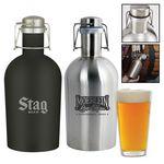 Custom Portland 64 oz. Stainless Steel Beer Growler Jug