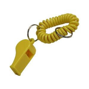 Clearance Item! Wrist Coil w/Whistle Keyring
