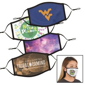 SALE! Full Color Dye Sublimation Face Mask - Small / Med