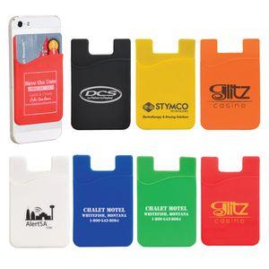 Slim Silicone Smartphone Mobile Wallet