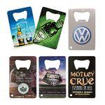 Custom Credit Card 4 Color Process (VERSAprint) Bottle Opener