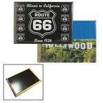 Custom Heavy Duty Fridge Magnet w/ 4 Color Process Printing (CMYK)