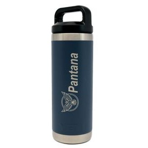 Authentic YETI 18 oz. Bottle Laser Engraved