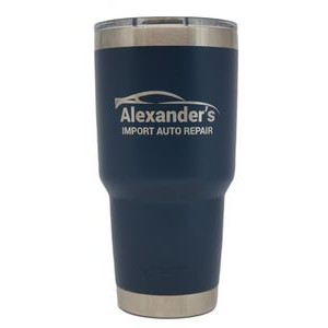 Authentic YETI 30 Oz. Tumbler Laser Engraved