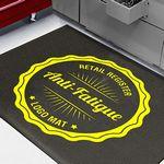 Custom 2x3 Retail Register Anti-Fatigue Logo Mat 5/8