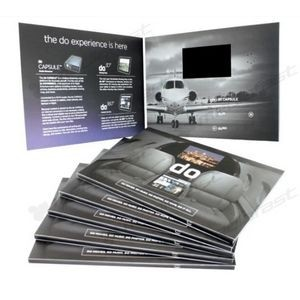 "Video Brochure, 5x7 with 3""Screen"