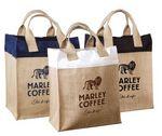 Custom Mini Jute Gift Bag - Natural