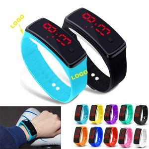 Silicone LED Digital Sport Watch