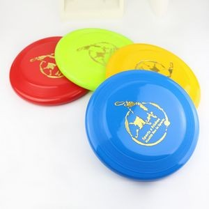 Plastic Round Shape Flying Disc w/Logo for Promotional