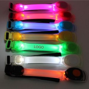 LED Luminous Arm Band Night Safety Warning Light
