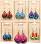 Custom Handmade Threaded Earrings (Assorted Styles)