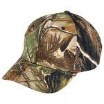 Custom Camo Real Tree Hardwoods Green All Purpose Camouflage Cap