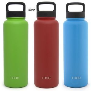 Vacuum Insulated Stainless Steel Water Bottle 40oz