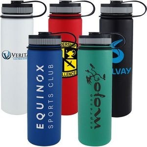 Vacuum Insulated Stainless Steel Water Bottle 24oz