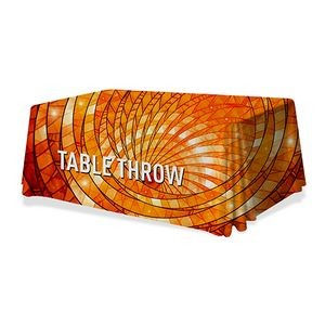 24-Hour Quick Ship Table Throw Full Color 6 Ft. 3-Sided