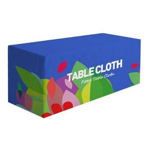 Premium 6' Fitted Table Cloth 4-sided (Full-Color Full Bleed)
