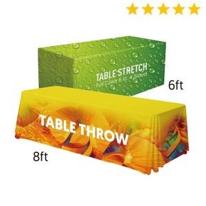 Premium 6'/8' Convertible Table Throw (Full-Color Full Bleed)