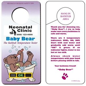 Baby Bear Hanging Bath Thermometer