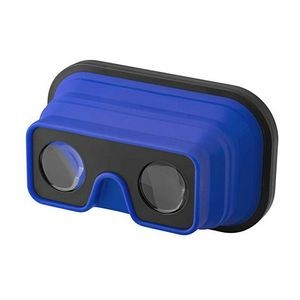 3D Foldable Silicone Virtual Reality Glasses