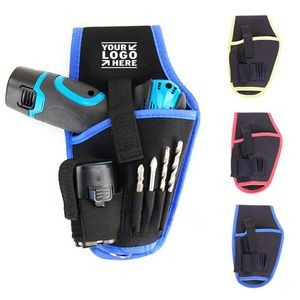 Electric Drill Pouch Wrench Pocket Waist Tool Bag