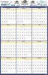 Custom Laminated Wall Calendar Vertical/Horizontal
