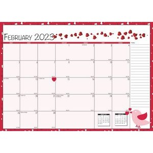 Custom Full-Color Monthly Seasonal Planner w/2-Piece Cover