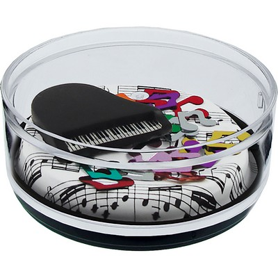 Liquid Melody Compartment Coaster Caddy
