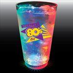 Custom 16 Oz. Plastic 3 Light Pint Glass