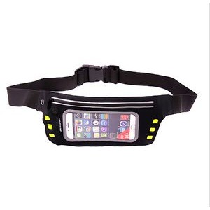 LED Reflective Sport Waist Bag