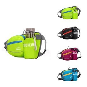 Waterproof Running Waist Bag with Water Bottles pouch
