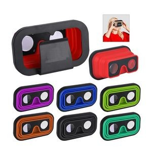 Folding Silicone 3D VR Glasses