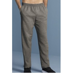 Gildan Heavy Blend Adult Open Bottom Sweatpants with Pockets