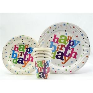 Paper Cup and Plate Set for Party