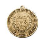Custom 2 Gauge Die Struck Award Medal (3